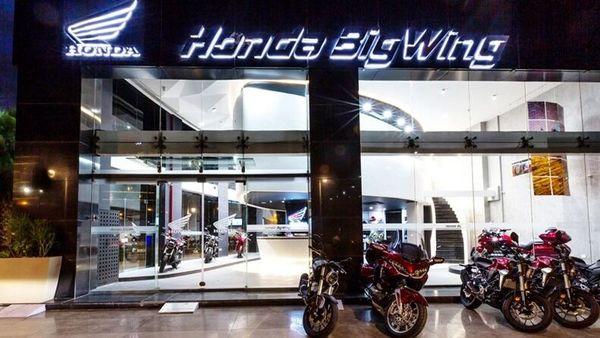 A Honda BigWing showroom located in Gurugram, Haryana, (File photo)