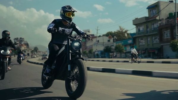 Project One electric motorcycle from Yatri Motorcycles. (Yatri Motorcycles)