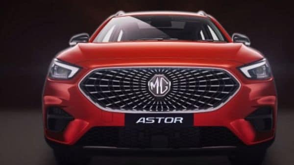 MG Astor is the upcoming SUV from the brand.