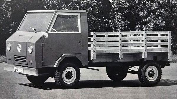 Volkswagen Basis-Transporter. (Volkswagen)