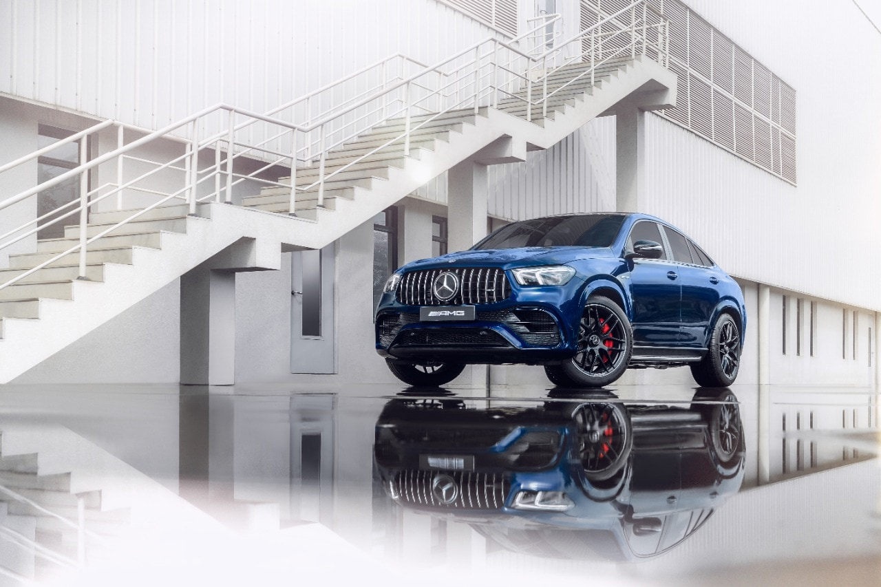 Mercedes AMG GLE 63 Coupe comes with EQ Boost technology which further increases its power output and torque on offer.