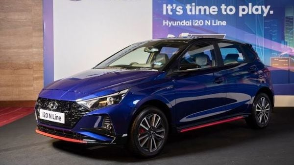 The India-bound Hyundai i20 N Line gets a sporty look with the fresh alloy design and dual exhausts on the exterior. The products under Hyundai's N Line brand primarily get key visual upgrades over the standard versions that they are based on.
