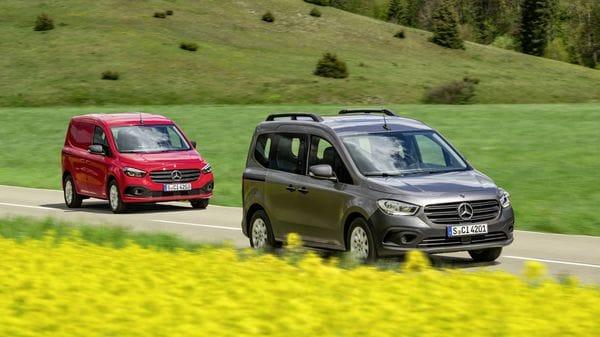 Mercedes-Benz has unveiled its latest minivan Citan and its electric variant e-Citan.