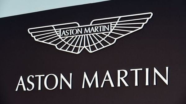 File photo: An Aston Martin logo is pictured at the new factory in Saint Athan, Wales, Britain. (REUTERS)