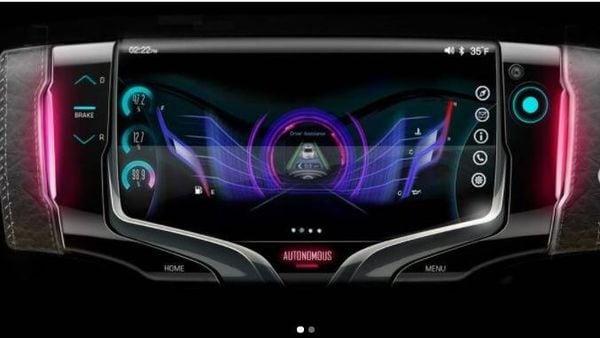 General Motors' concept steering wheel. (Image source: generalmotorsdesign/Twitter)