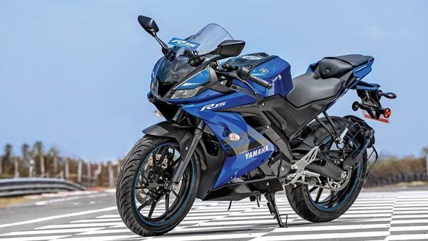 The third generation of the Yamaha YZF R15 was introduced in India a few years back. (Representational Image)