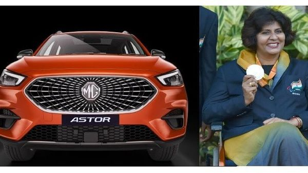 MG's upcoming Astor SUV's personal AI assistant will have the voice of the Paralympic athlete and Khel Ratna Awardee Dr. Deepa Malik (R).