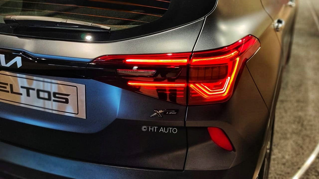 The tail lamps now get a smoked effect, similar to the front head lamps.