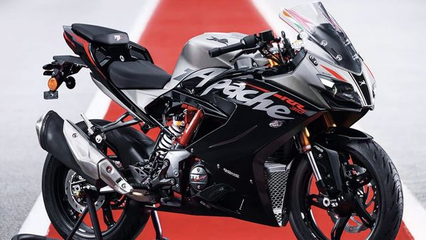 The new Apache RR310 is likely to be priced somewhere in the range of ₹2.50 lakh to ₹2.60 lakh (ex-showroom).