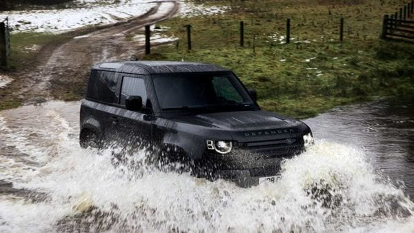 Land Rover has launched the V8 version of the new Defender SUV in India.