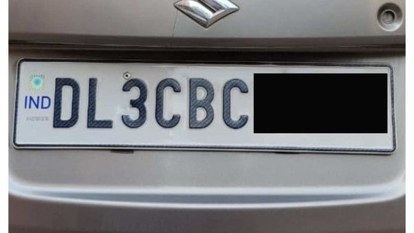 File Image : High Security Registration Plate