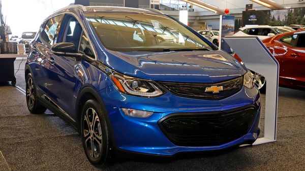 Around 140,000 units of Chevrolet Bolt EVs have been affected by the faulty batteries. (AP)