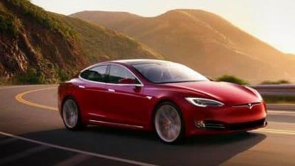 File phot of Tesla Model S (AP)