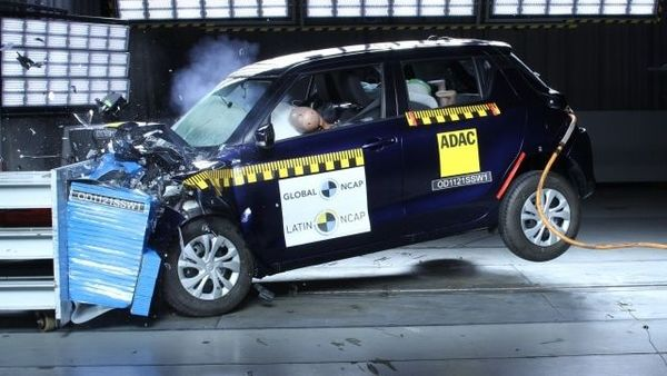 Made in India Maruti Suzuki Swift, which had secured 2 Star rating at the Global NCAP crash tests, failed miserably in the Latin American version.