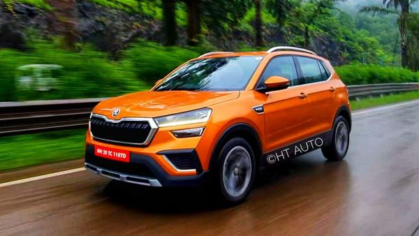 Skoda Auto India has denied reports of launching 1.5-litre TSI Kushaq SUV in mid-spec trim. (HT Auto/Sabyasachi Dasgupta)