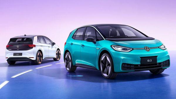 Volkswagen all-electric ID.3 models. (Volkswagen)