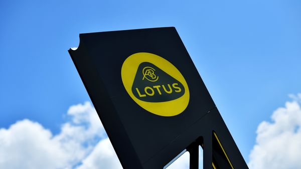 File photo: A Lotus sign is seen at the car plant headquarters in Hethel, Britain. (REUTERS)