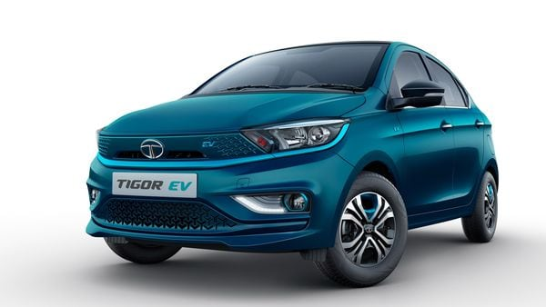 Tata Motors has officially launched Tigor EV in the Indian market at a starting price of <span class='webrupee'>₹</span>11.99 lakh, going up to <span class='webrupee'>₹</span>13.14 lakh (ex showroom). (Tata Motors)