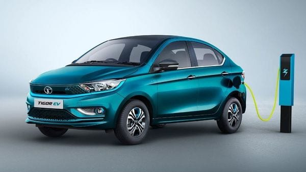 The electric vehicle from Tata Motors will be capable to cover a distance of 306 km before needing a charge. Tigor EV comes with an IP67 rated 26 kWh lithium-ion battery pack combined with an electric motor. The electric powertrain generates 73.75 hp of power and 170 Nm of torque.