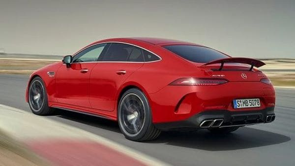 Mercedes-AMG is offering the GT 63 S E Performance with seven driving modes, including Electric, Comfort, Sport, Sport+, RACE, Slippery and Individual. Besides the coupe gets standard ceramic brakes and active AMG Ride Control, among other features.