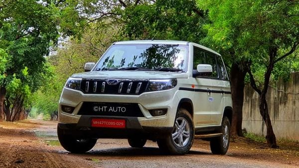 Bolero Neo offers the rugged character of Bolero, pairing it with a more premium exterior and cabin look and feel. (HT Auto/Sabyasachi Dasgupta)