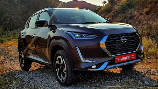 Nissan Magnite competes in the sub-compact SUV space in India. (HT Photo)