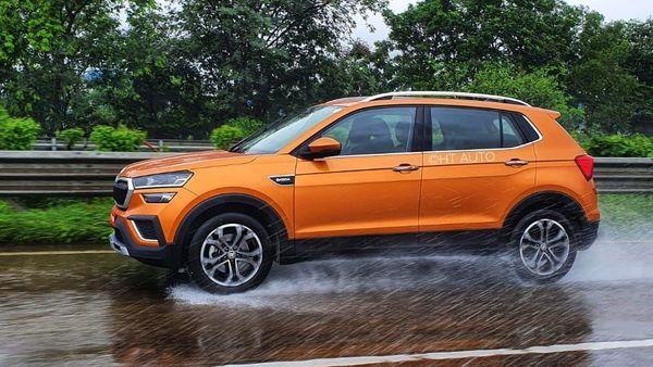 Skoda Kushaq comes with an exciting design. (HT Auto/Sabyasachi Dasgupta)