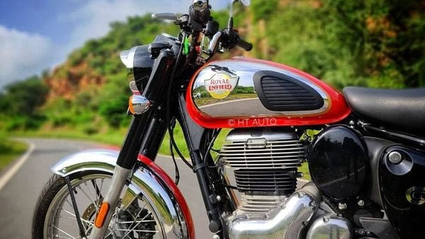 The new Classic 350 motorcycle was recently launched in the Indian market.