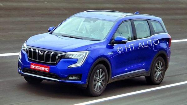 Mahindra XUV700 won't be impacted by the production cut decision. (HT Auto/Sabyasachi Dasgupta)