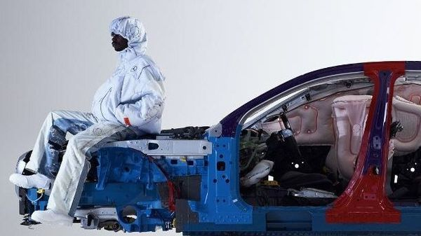 Concept clothes made from recycled airbags are part of Mercedes-Benz celebrations of having completed 40 years since introducing airbags in its vehicles.