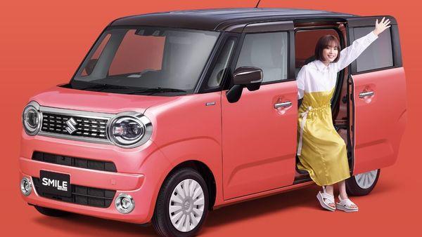The all-new WagonR Smile. (Suzuki)
