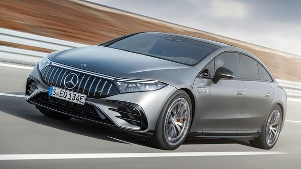 The 2022 Mercedes-AMG EQS by the company promises to combine the power and performance of AMG badged cars with a zero-emission powertrain. The EV will feature all-wheel drive. It comes with a dual electric motor system combined with a battery pack that can generate a power of 649 hp and a peak torque of 949 Nm. Also, one can boost the power output to 751 hp. (Daimler)