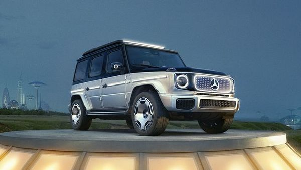 The EQG concept from the automaker comes with an iconic boxy design. It gets the same 4x4 off-roading capability as the fossil-fuel-powered G-Class but features a silent and zero-emission powertrain. It will ride on on 22-inch polished aluminium alloy wheels. Mercedes-Benz said that the design advantages of the electric drive of the EV makes it ideal for off-road vehicles and ambitious off-road operations. (Daimler)