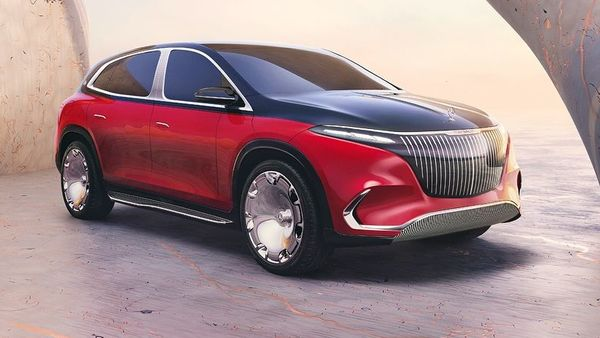 The luxury automaker has also brought in the Mercedes Maybach EQS SUV at the auto show. One can say that is the perfect blend between the style and features of the EQS sedan and the body of an SUV. With its two-tone paint scheme, this all-electric SUV also features signature EQS furnishings, executive seating and a Chauffeur package. (Daimler)