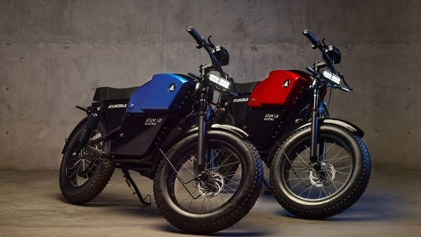 Atum 1.0 electric bike gets a minimalist styling and a cafe racer look.