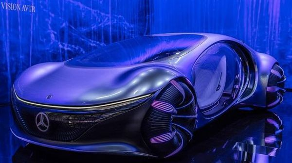 Mercedes-Benz partnered with Disney to develop Vision AVTR concept.