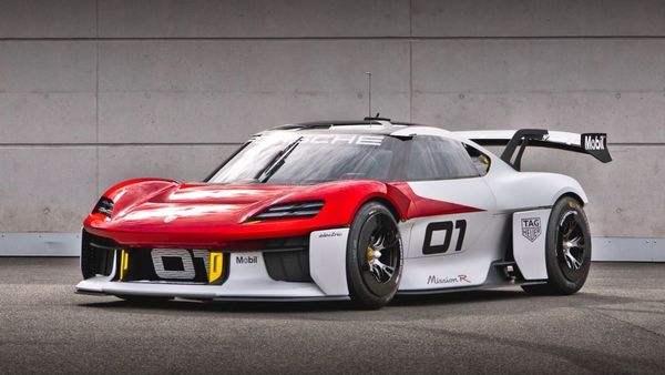 Porsche introduced its all-electric Mission R concept car. The automaker says that this electric concept car is a combination of state-of-the-art technologies and sustainability