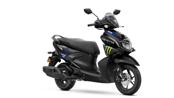 The RayZR Monster Energy Yamaha Moto GP Edition is priced at Rs. 81,330 (Ex-showroom, Delhi)