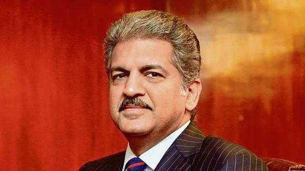 File photo of Mahindra Group Chairman Anand Mahindra (MINT_PRINT)