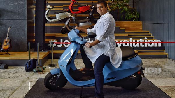 Ola electric scooter will now go on sale from September 15, 2021. (AFP)