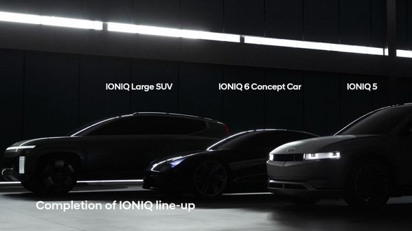 Hyundai Ioniq 6 and Ioniq 7 are the next two upcoming battery-powered weapons in the carmaker's arsenal. (Hyundai_Global/Twitter)