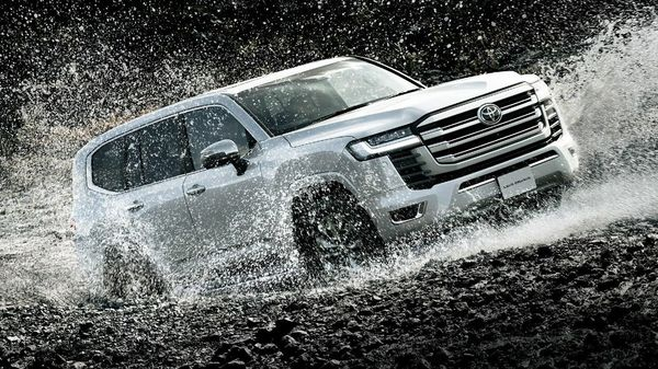 The new Land Cruiser is based on Toyota's GA-F Platform. (Toyota)