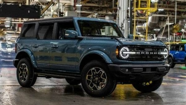 2021 Ford Bronco at Michigan assembly plant