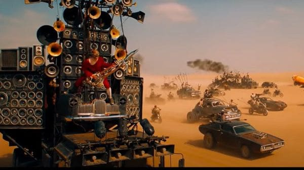 Screengrab taken from the video posted on YouTube by Warner Bros. Pictures.