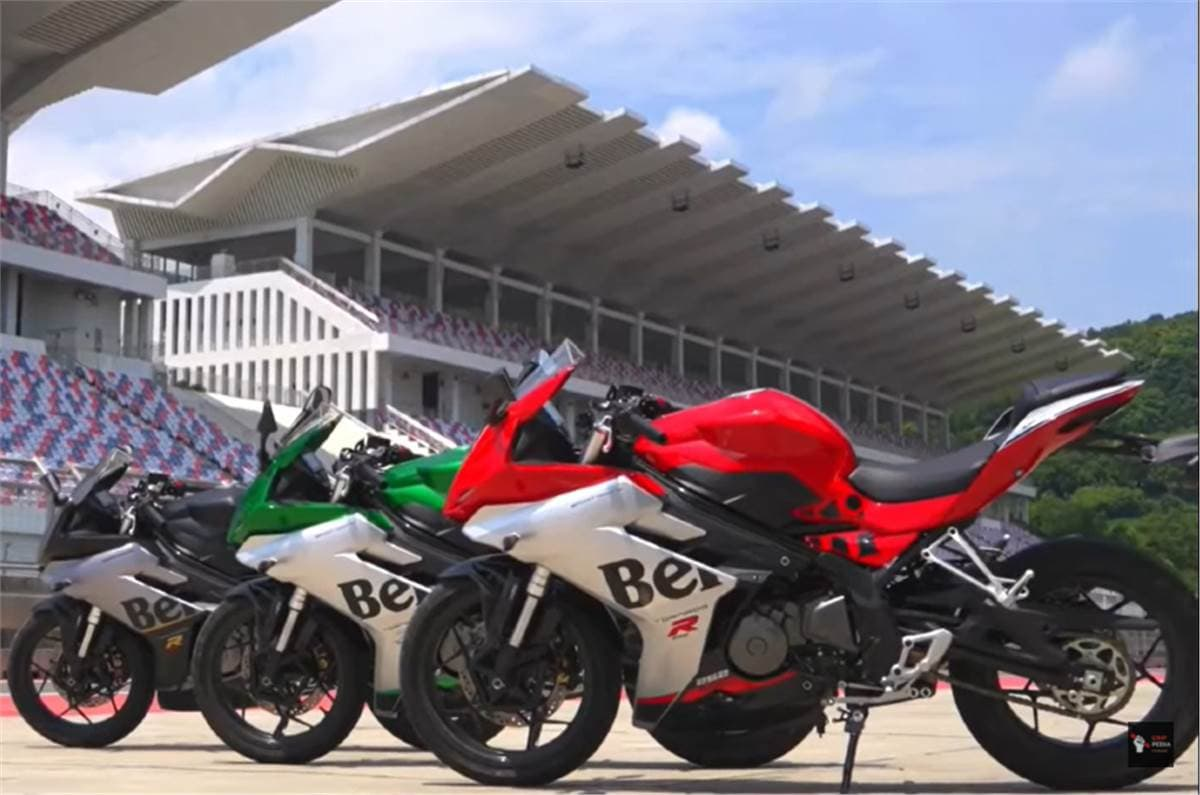 The new 252R sport bike from the Chinese-owned premium motorcycle maker features its exterior design inspired by the new 302R.