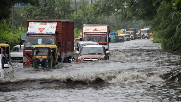 Record heavy rains lashed many parts of the national capital on Saturday, making it the wettest monsoon season in 46 years. This lead to extensive waterlogging on key roads, disrupted traffic and left passengers trapped in vehicles in flooded underpasses. (Ishant Kumar)