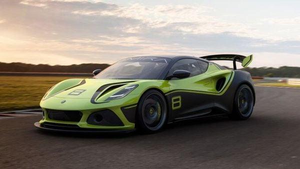 Lotus Emira GT4 race car. (Lotus)