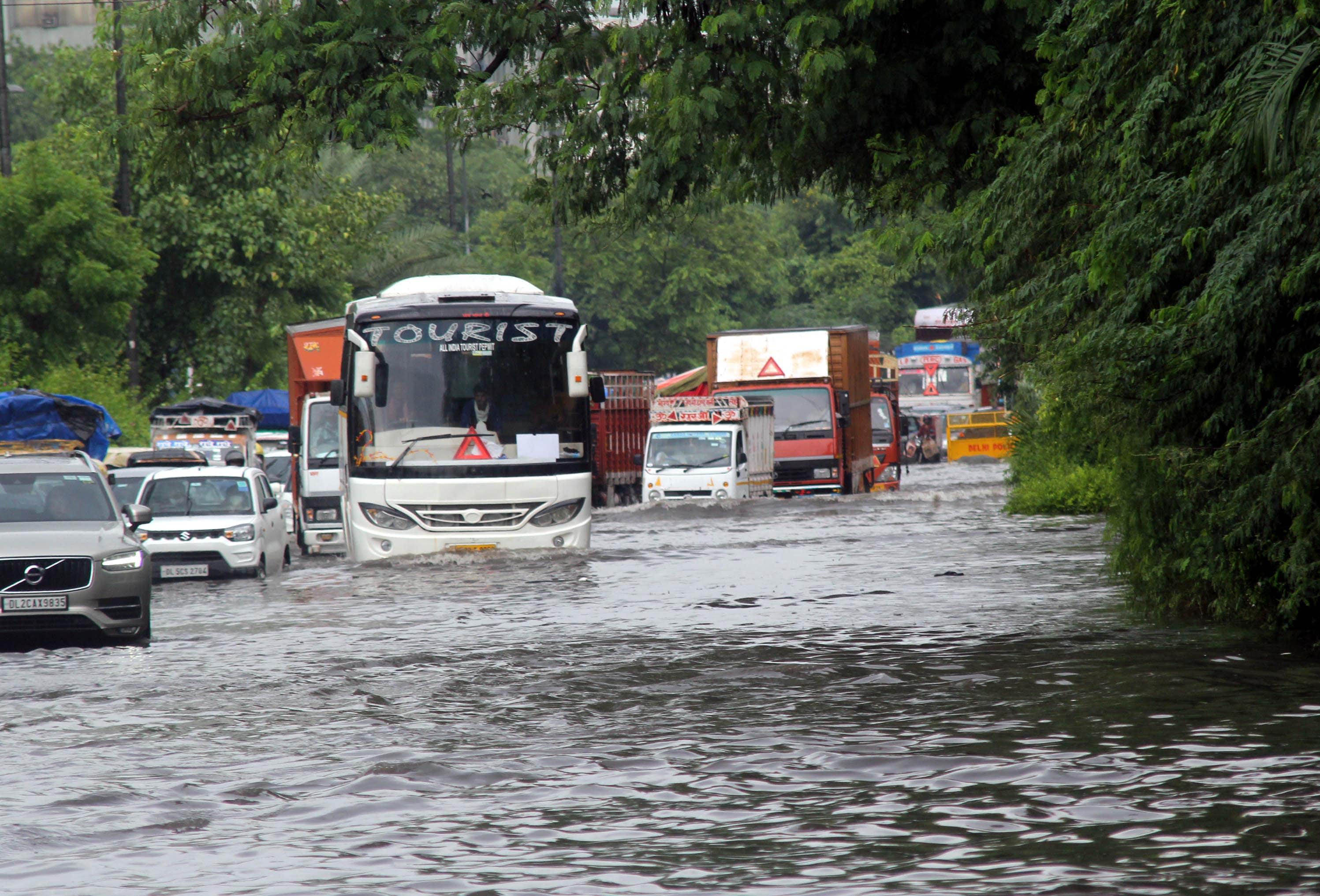Other ares that faced water-logging include Vikas Marg, Sangam Vihar, Mehrauli-Badarpur Road, Pul Prahladpur Underpass, Mahipalpur, Munirka, Rajpur Khurd, Nangloi and Kirari, among others.