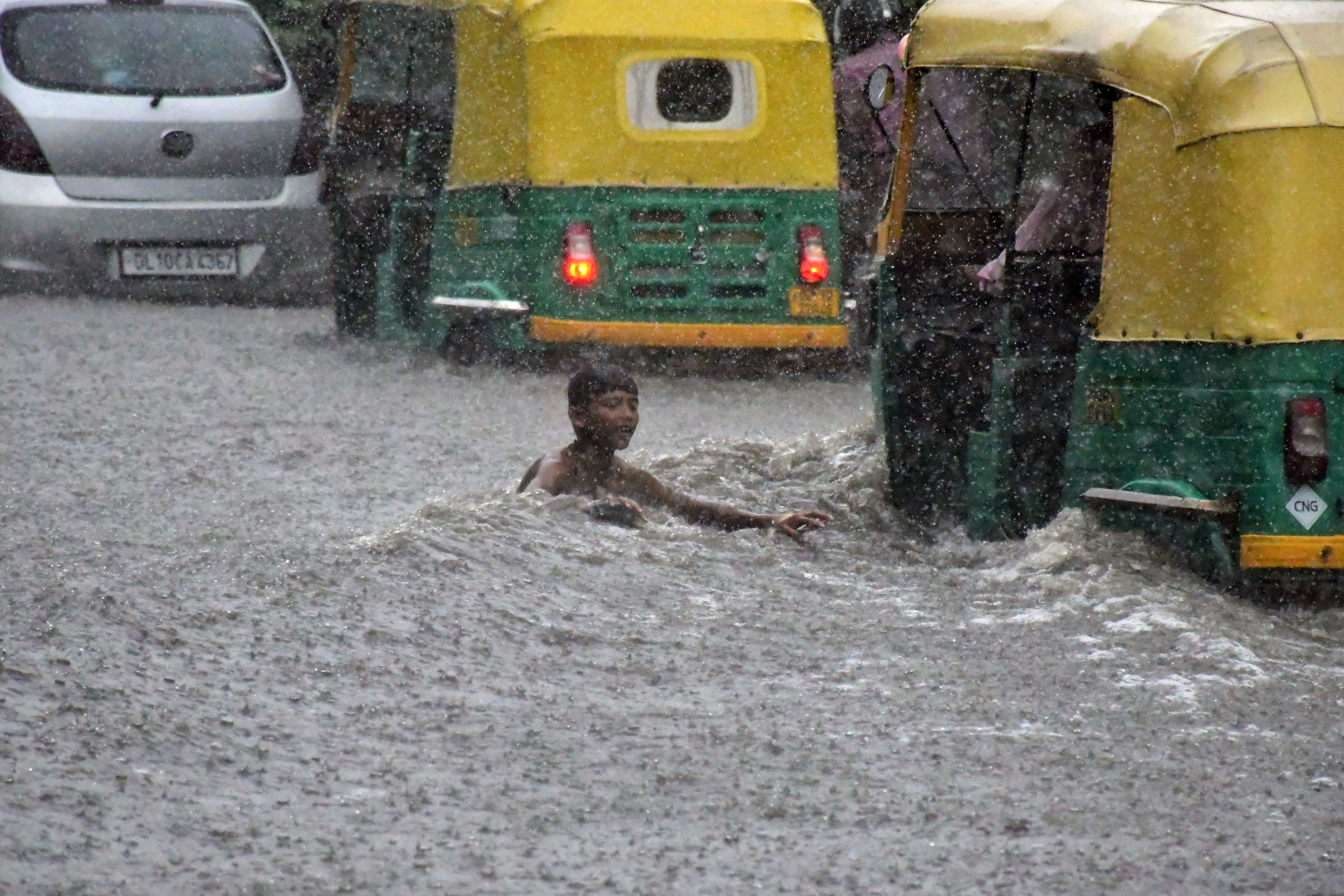 Some other key areas that witnessed heavy waterlogging include Ring Road near WHO building, NH-48 (Airport road), Moti Bagh, RK Puram, Madhu Vihar, Hari Nagar, Rohtak Road, Badarpur, Som Vihar, Ring Road near IP Station, among others.