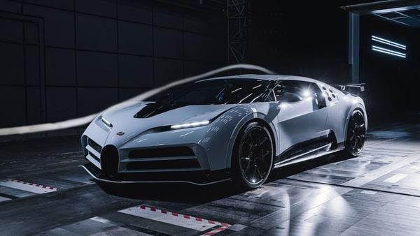 Bugatti Centodieci successfully completes wind tunnel tests.